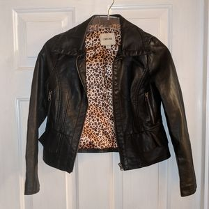 Cherokee Faux Leather Jacket